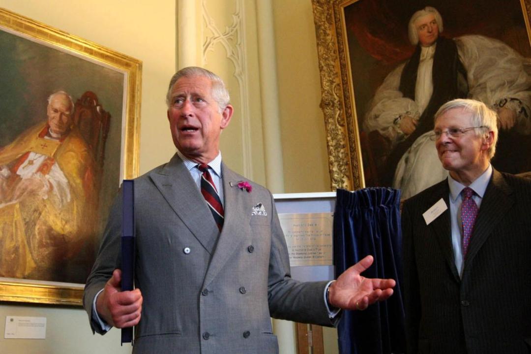 Jonathan Ruffer with Prince Charles