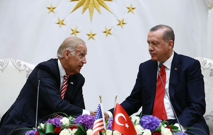 Erdogan Biden, File Photo