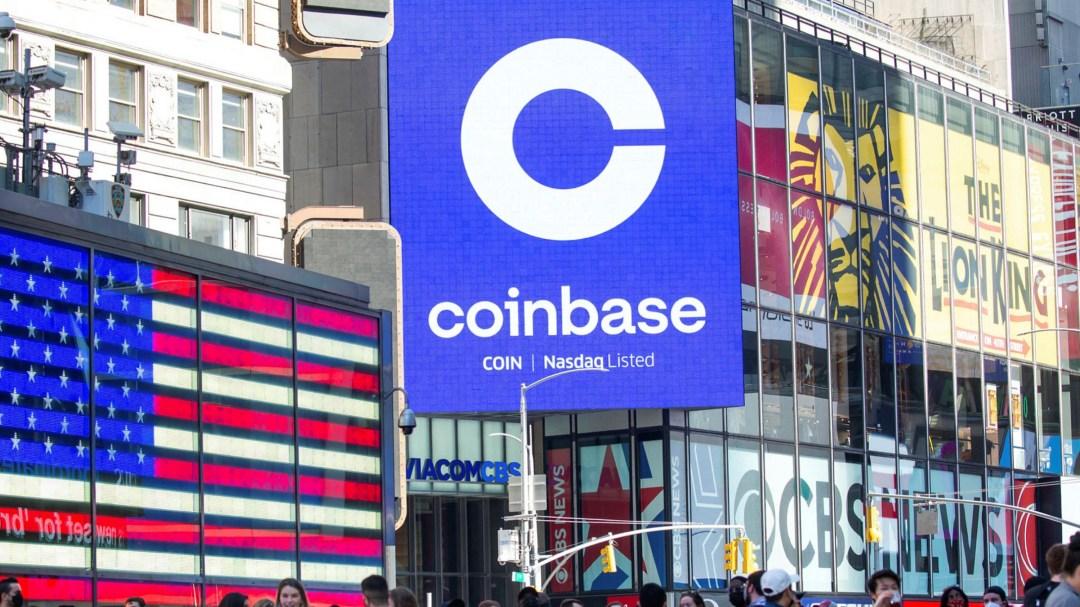 Coinbase Nasdaq Listing