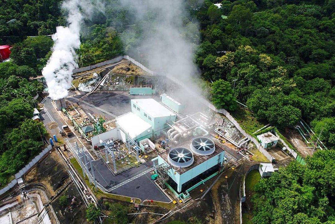 Volcano geothermal bitcoin mining