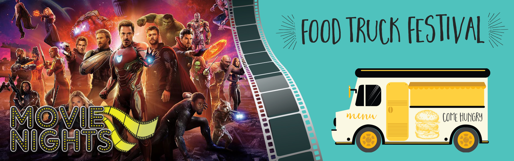 Outdoor Movie Night & Food Truck Festival