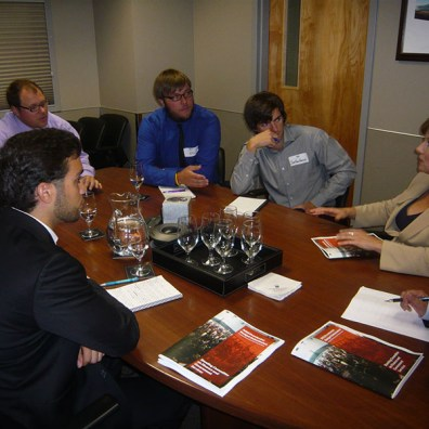 Lobby meeting with Premier Clark in 2009