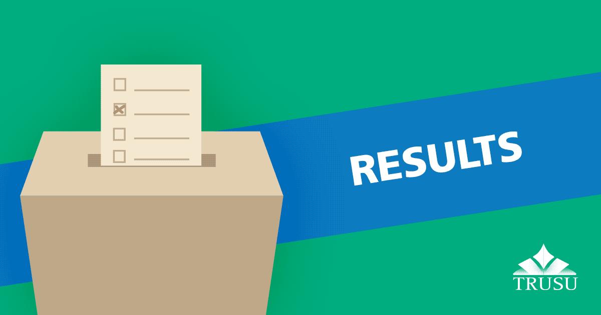 2021 TRU SU Election Results