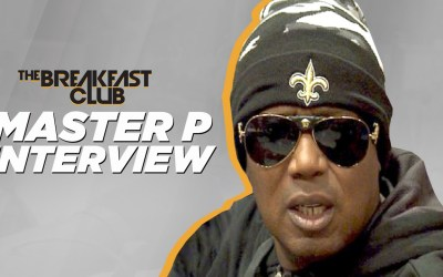 Master P Interview at The Breakfast Club Power 105.1