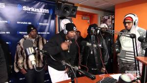 No Limit Forever's Money Mafia and Mater P Freestyle Live on Sway In The Morning