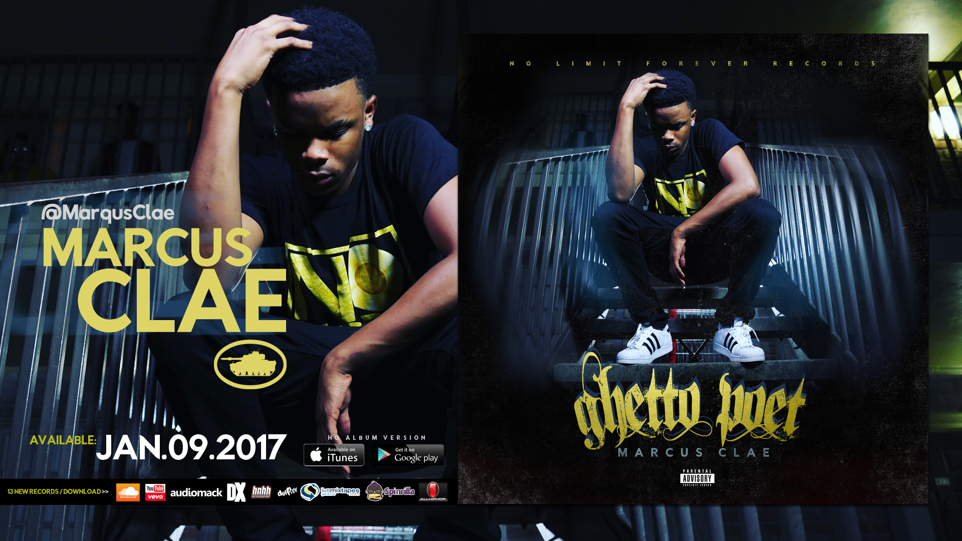 Marqus Clae Delivers A Seasoned Project, The Ghetto Poet