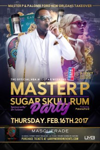 Master P & Paloma Ford Set Off All-Star Weekend in New Orleans