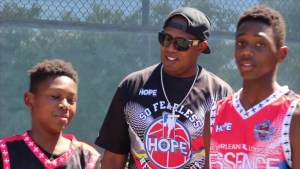 MASTER P GETS SOME FATHER'S DAY LOVE FROM HIS SONS HERCY & MERCY