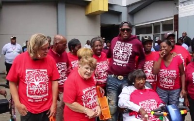 Music Mogul Master P Gives Back In A Major Way  To Help The Elders In New Orleans