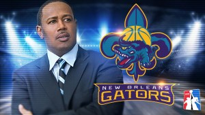 PERCY MILLER AKA MASTER P THE NEW OWNER OF THE PROFESSIONAL BASKETBALL TEAM THE NEW ORLEANS GATORS