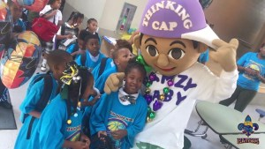 NEW ORLEANS GATORS AND MASTER P GIVE BACK  TO THE KIDS IN THE COMMUNITY