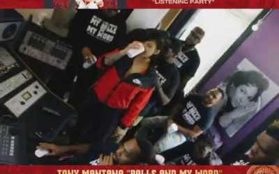TONY MANTANA ALBUM LISTENING PARTY HAS FLORIDA DJS ALL IN WITH THE STREET KING