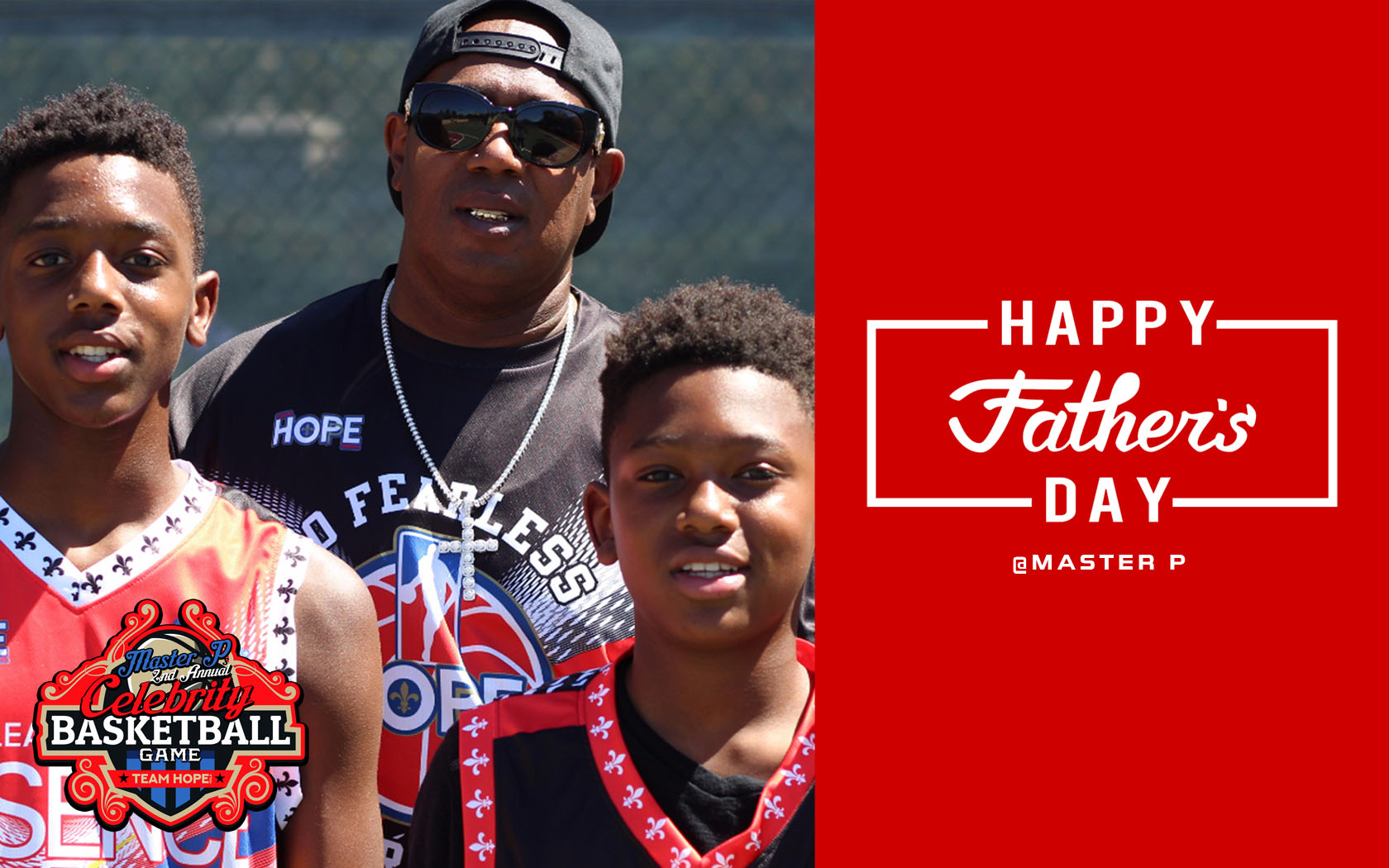 MASTER P SAYS HAPPY FATHER'S DAY THIS IS MY LETTER TO MY DAD