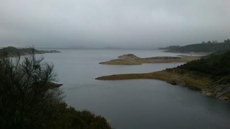 Condições de pesca na Barragem de Pisões - 2013