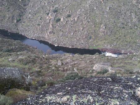 Rio Côa caudal Fevereiro 2016 - 2