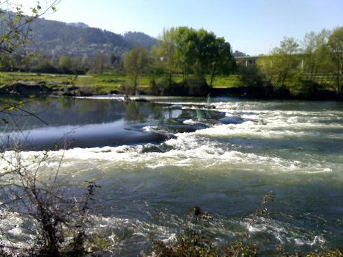 Rio Lima Abril Barragem Touvedo Aberta