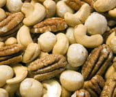 nuts - more healthy foods to burn fat