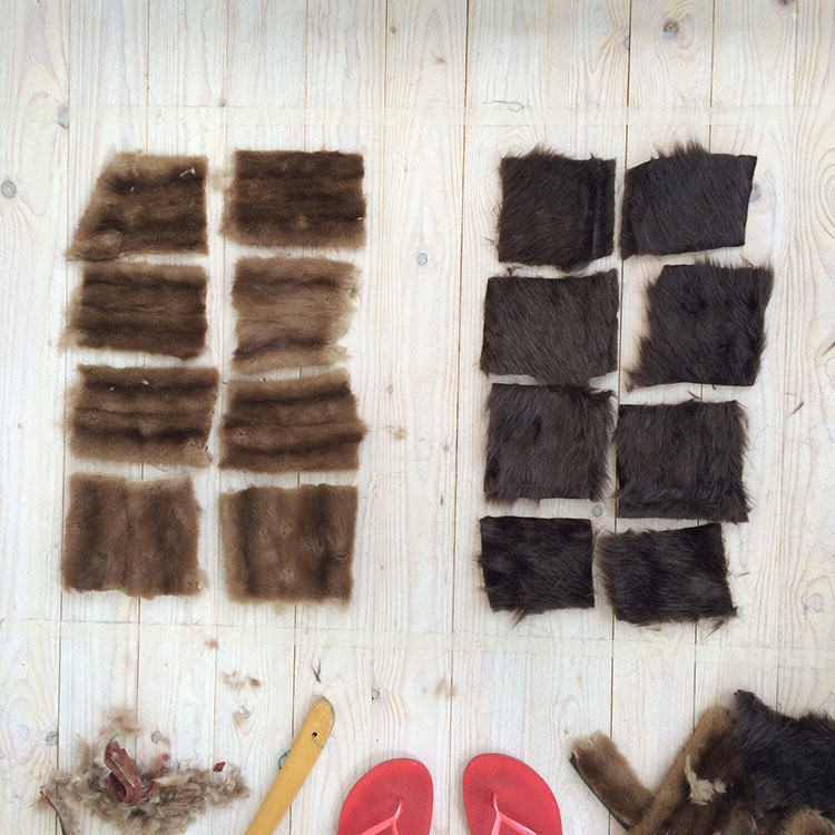 mink, fake fur, real fur, real fur vs fake fur, biodegradable, eco fashion, sustainable, fur burial