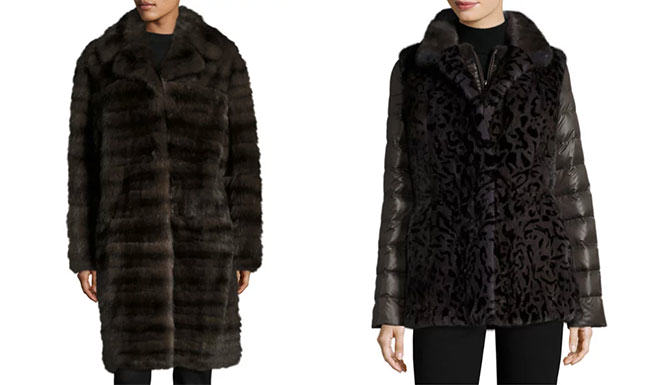 fur coat, mink, sable, fur fashion, fashion, Oscar de la Renta, Gorski