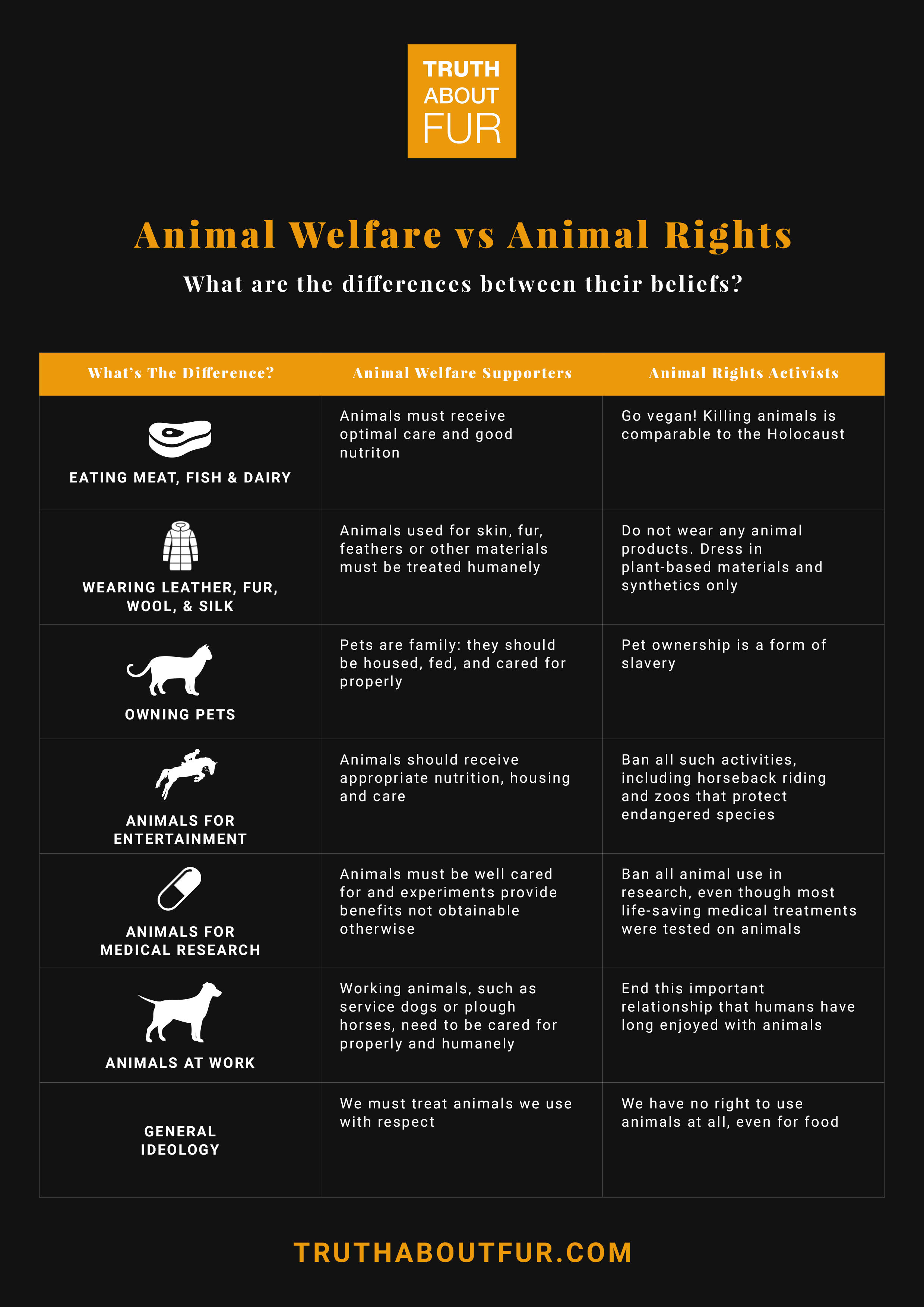 Animal Welfare Vs Animal Rights An Important Distinction