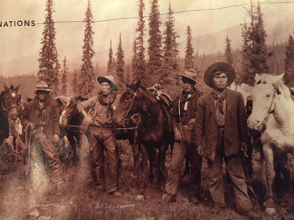First Nations horse packers in British Columbia