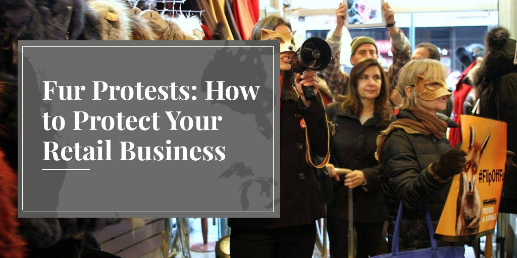 fur protests can be store invasions
