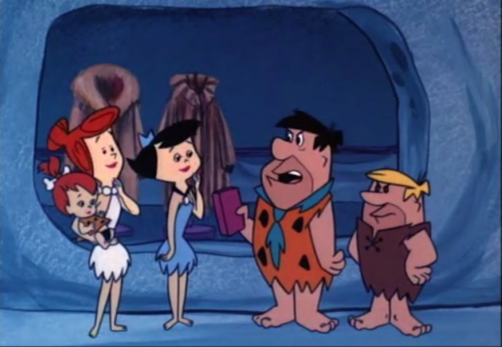 flintstones love cartoon fur