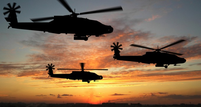 Military Helicopters Spotted In Phoenix Skies