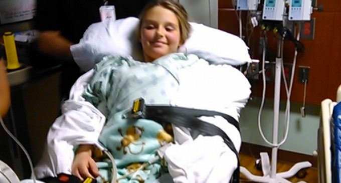 Family Claims Healthy, 9-Year-Old Daughter is Paralyzed Because of Flu Shot