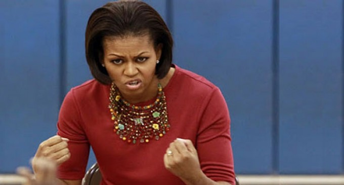 Michelle Obama Visits Target, Immediately Cries 'Racist'