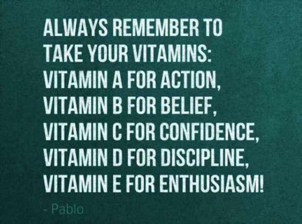 vitamins quotes