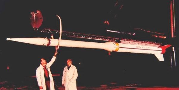 Black Brandt IV sounding rocket
