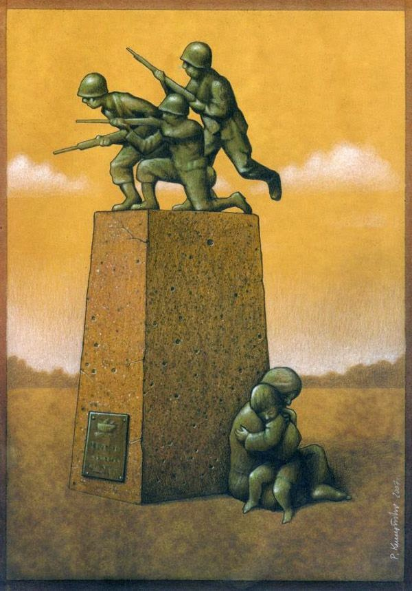 Pawel Kuczynski soldiers