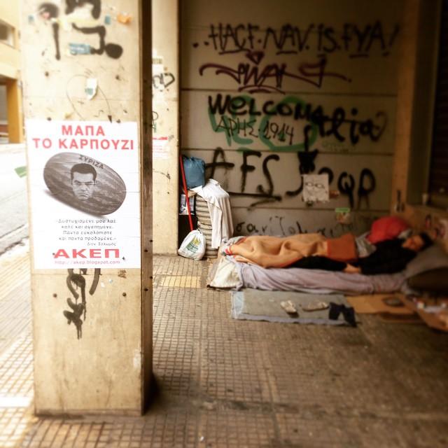 Solonos-homeless