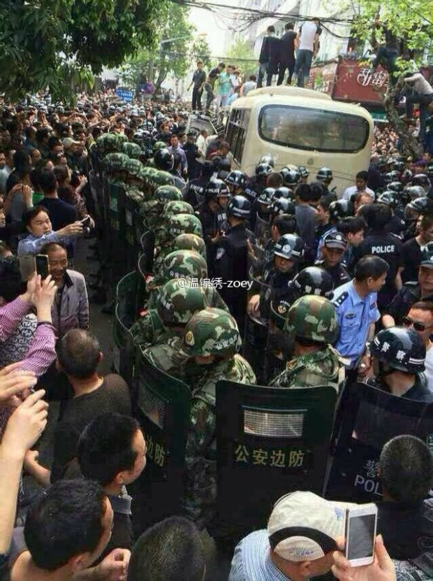 Thousands REVOLT In China Against Police Brutality 2