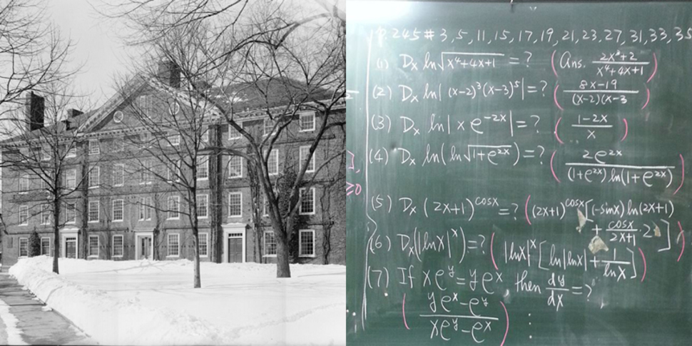 harvard before calculus