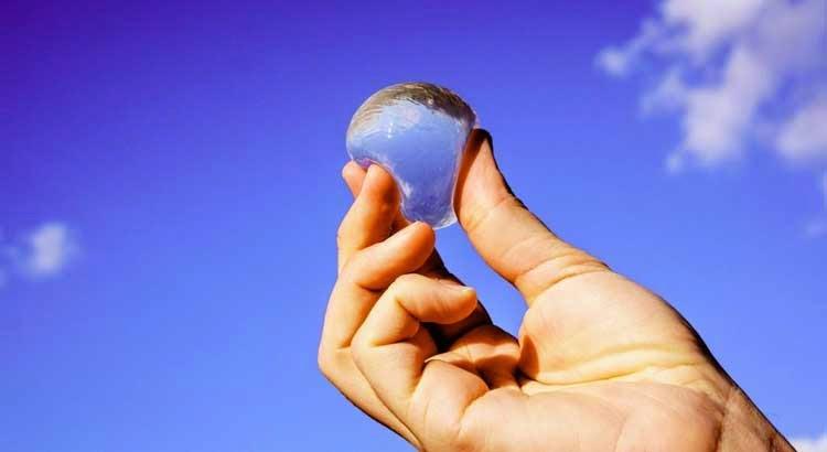 Water Bottle Futuristic