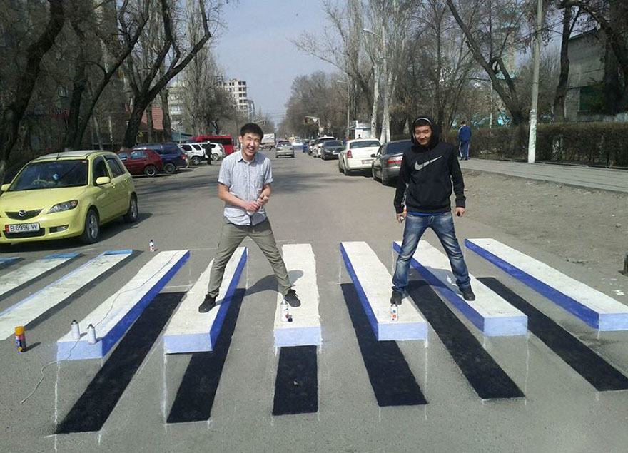 three-dimensional crossings (4)