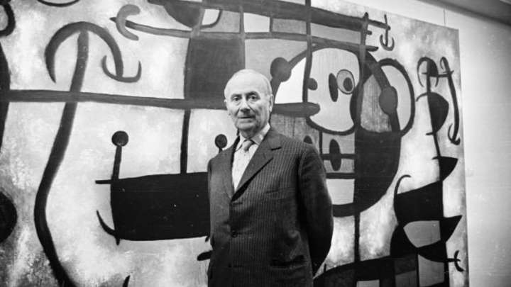 Joan Miro's paints auctioned-1