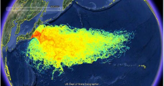 Officials: Fukushima Has Now Contaminated 1/3 Of The Worlds Oceans.