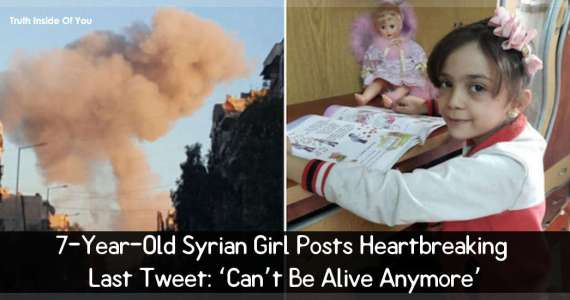 7-Year-Old Syrian Girl Posts Heartbreaking Last Tweet: 'Can't Be Alive Anymore'