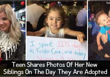 Teen Shares Photos Of Her New Siblings On The Day They Are Adopted