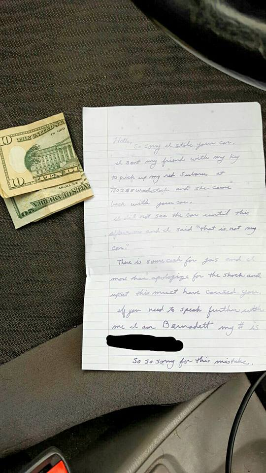 womans-stolen-car-returned-with-gas-money-and-this-note-in-it-3
