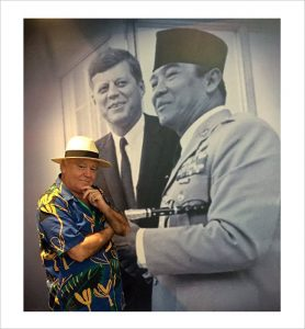 Neil Keenan, JFK and Sukarno