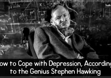 How to Cope with Depression, According to the Genius Stephen Hawking
