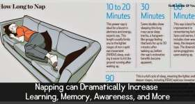 Napping can Dramatically Increase Learning, Memory, Awareness, and More