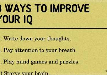 8 ways to improve your IQ