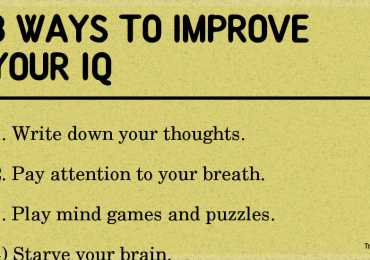 8 ways to improve your IQ