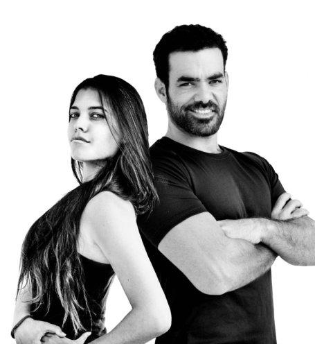 Yehuda Devir and his wife