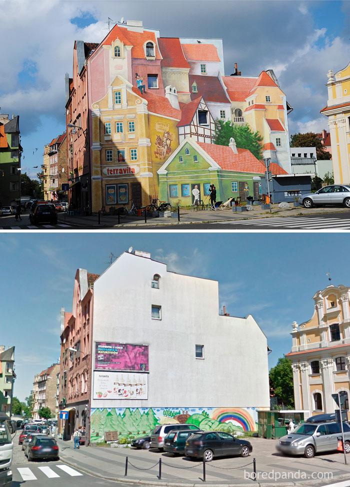 3D Mural In Poznan, Poland